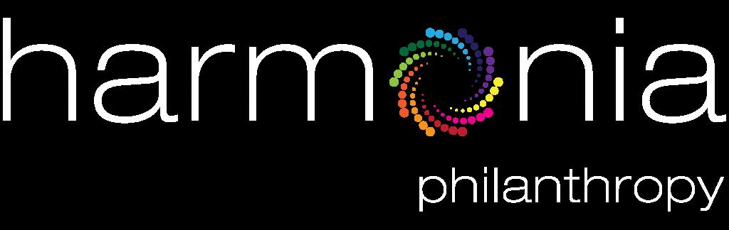 Harmonia Philanthropy White Logo